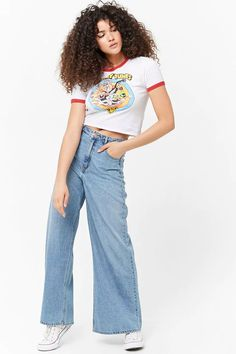 Product Name:Looney Tunes Ringer Tee, Category:top_blouses, Price:14.9