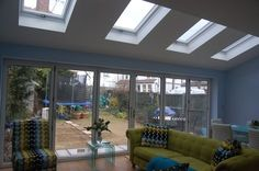 example not only have we created a projecting canopy but how to build rear extension planucost architecture how Flat Roof Extension Design - Home Roof Ideas Kitchen Diner Extension, House Design, House, Home, Flat Roof Extension, Velux Windows, New Homes, Open Plan Living, Kitchen Extension