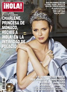 Charlene, princesa de Mónaco, recibe a ¡HOLA! en la intimidad de palacio