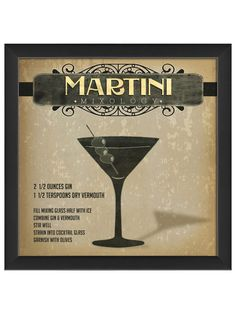 Martini Mixology