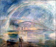 Egry József painting of Lake Balaton