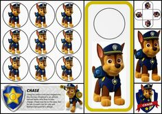 Paw Patrol o Patrulla Canina: Divertido Mini Kit de Chase para Imprimir Gratis.