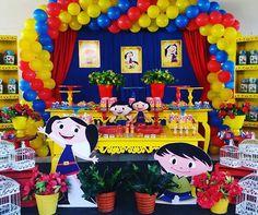 #dehoje #festashowdaluna #decoraçãoshowdaluna