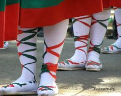 Basque traditional shoes