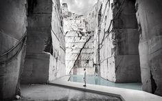 Projeto vencedor do concurso internacional Carrara Thermal Baths,Cortesia de Rethinking Architecture Competitions