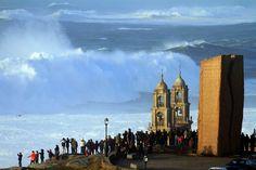 A Ferida y el Santuario da Barca, junto al Faro de Muxía #CaminodeSantiago