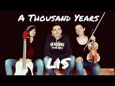 LiS - A Thousand Years - Cover - Ukulele Alex&Paul feat. Marianna - YouTube