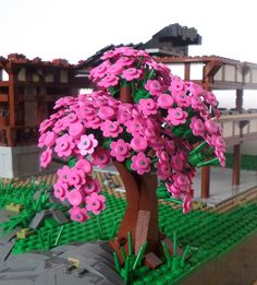 LEGO cherry blossom. . . just lovely. Sumanth