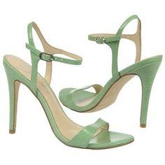 "Fergie Women's Roxane Shoe - in mint green, YUM.  Although 4"" heels would make me 6'3""..."