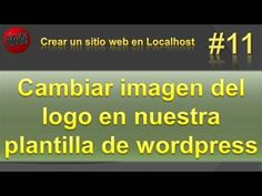 Cambiar imagen del logo en wordpress. Comprimir imágenes import.io. Víde...