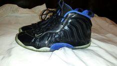 139bcd8d63ea Nike Foamposite Little Posite One 644791-006 SPACE JAM Black blue Size 5Y