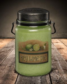 Classic Jar Candle-26oz-KEY LIME PIE-Scented Candles - McCall's Candles