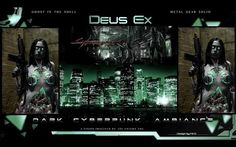 """Dark Cyberpunk Ambiance – The Enigma TNG (Cyberpunk Music) """"The 4 tracks which are 2027 Ambiance, Silent Hacker, Genesis, and Beyond the World (19 mins total) are originally from the Genesis album. They were incredibly low in volume on the album (which was my fault) so I decided to take them and increase the volume as well as place them together as a whole track, creating a true dark cyberpunk atmosphere..."""