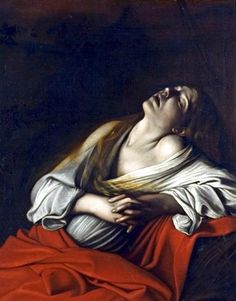 Caravaggio, maria magdalena em extase