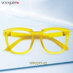 cb6e53d2612f Marta Rectangle Medium Yellow Eyeglasses VFP0297-02