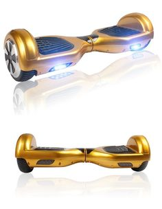 iohawk mini Smart Hoverboard, in gold! I WANT ONE REALLY REALLY BADLY!!!!!