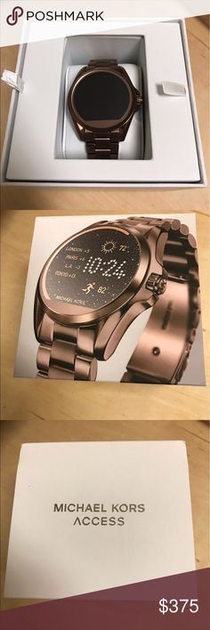 31347cd6bcb8 Michael Kors Access Smartwatch Sable-tone - Compatible with Android OS 4.3  or higher