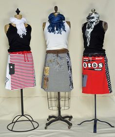 T-Shirts into Skirts...