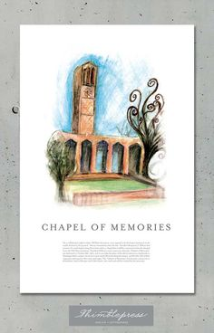Chapel of Memories by Thimblepress on Etsy $20