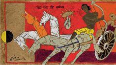 Maqbool Fida Husain - Buscar con Google
