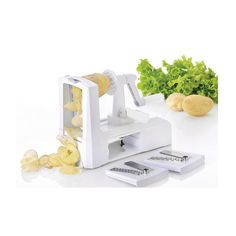 3 in 1 Plastic choppers Spiral Vegetable Slicer/ Spiralizer Fruit Veggie Cutter Rotaty Peeler Cooking Tool Kitchen Accessories
