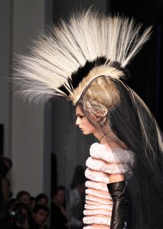 Andrej Pejic for Jean Paul Gaultier ~ Haute Couture Spring/Summer 2011.