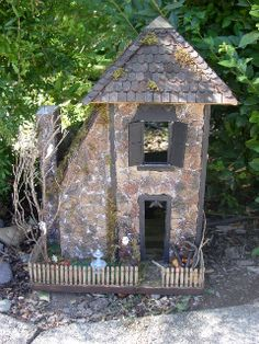 Witch Hilda's Miniature Cottage