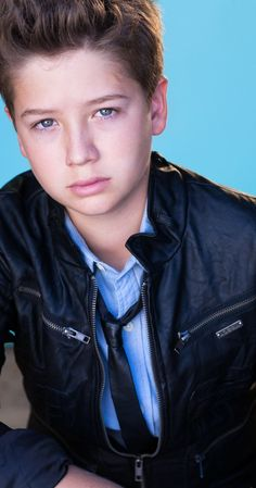 Garrett Ryan (II) - actor, known for Insidious: Chapter 2 Oculus and Judy Moody and the Not Bummer Summer Boy Fashion 2018, Kids Fashion Boy, Tight Leather Pants, Leather Jacket With Hood, Kids Boys, Cute Boys, Max Charles, Judy Moody, Beauty Of Boys