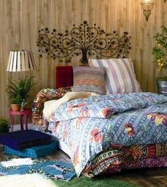 9 ideas para decorar la cabecera de la cama / 9 Ideas to decorate the header of your bed | Bohemian and Chic