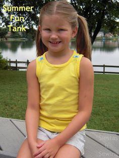 Sew Together: tank modified from Free Ottobre Design Tank Top - tutorial