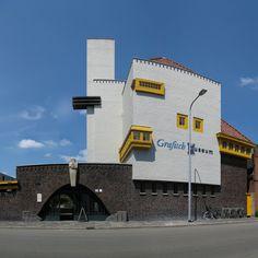 Grafisch Museum Groningen. Arch. Siebe Jan Bouma