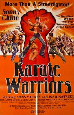 Karate Warriors (1976) Sonny Chiba arrives in a town where two gangs are at war with each other. In a nod to Kurosawa's Yojimbo, Sonny pits the two gangs against each other in an all-out battle of fly
