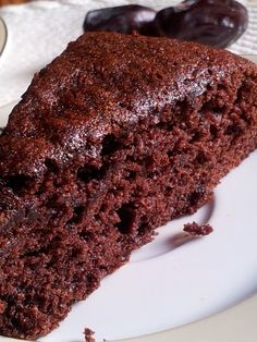Sponge chocolate cake with dates Bake My Cake, Munnar, Home Baking, Food Cakes, Cakes And More, Let Them Eat Cake, Cake Cookies, Cake Recipes, Deserts