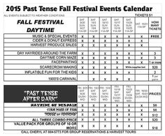 pasttensecountry Event Calendar, Special Events, Places, Lugares