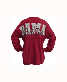 c13a2f8a602 Royce Apparel Inc Women s Alabama Crimson Tide Seer Sweeper Long-Sleeve  T-Shirt   Reviews - Sports Fan Shop By Lids - Women - Macy s