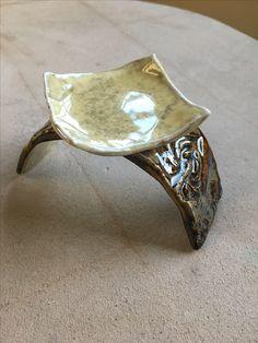 Karen Lucid Pottery. Tea light holder.