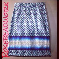 @rosebeadwork #blue #ribbonskirts #ribbonskirt