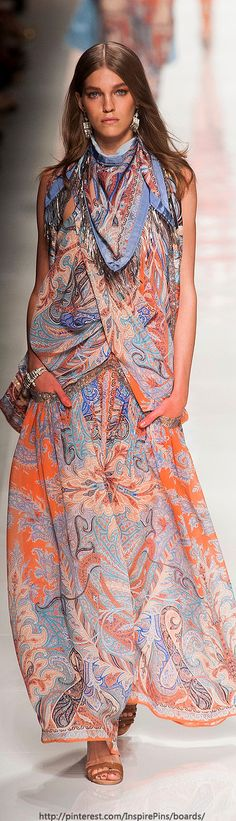 Milan Spring 2014 BOHO FASHION