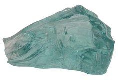 Azure Blue Slag Glass