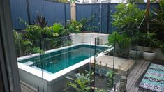 Beautiful installation of our Rectangle Australian Plunge pool