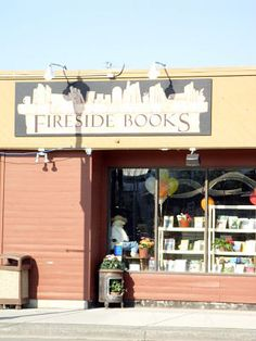 Fireside Books in downtown Palmer, Alaska. Owned by Eowyn Ivey, author of The Snow Child.