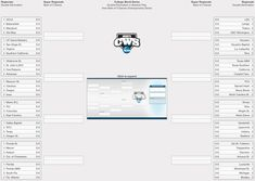 8 Team Double Elimination Printable Tournament Bracket