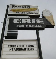 stratford, ontario vintage sign