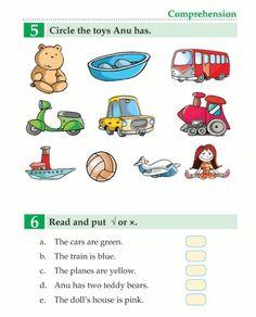 English Book Grade 1 My Toys Class 1 English, English Grammar For Kids, Kids English, English Reading, English Writing Skills, English Book, Education English, English Lessons, Learn English