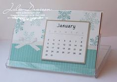I made up these desk calendars for my downline and VIP customers as Christmas gifts. Diy Calendar, Desk Calendars, Calendar Printable, Post It Note Holders, Just Love, Christmas Gifts, Digital, Projects, Blog