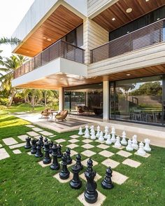 Find This Pin And More On Deco By Chicaardilla12. Giant Outdoor Chess Set  ...