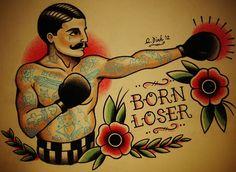old school boxer tattoo - Google zoeken