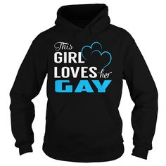 This Girl Loves Her GAY - Last Name, Surname T-Shirt