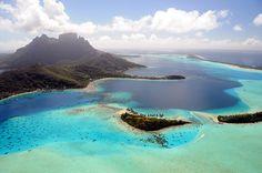 Bora Bora Lagon Polynésie française by xaviermaire, via Flickr