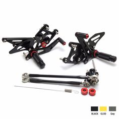 86.08$  Watch now - http://aliasa.worldwells.pw/go.php?t=32581622898 - KEMiMOTO Rear Sets 2007-2012 CBR600RR CNC Adjustable Rearset Foot Pegs For Honda CBR600RR 2007 2008 2009 2010 2011 2012 86.08$